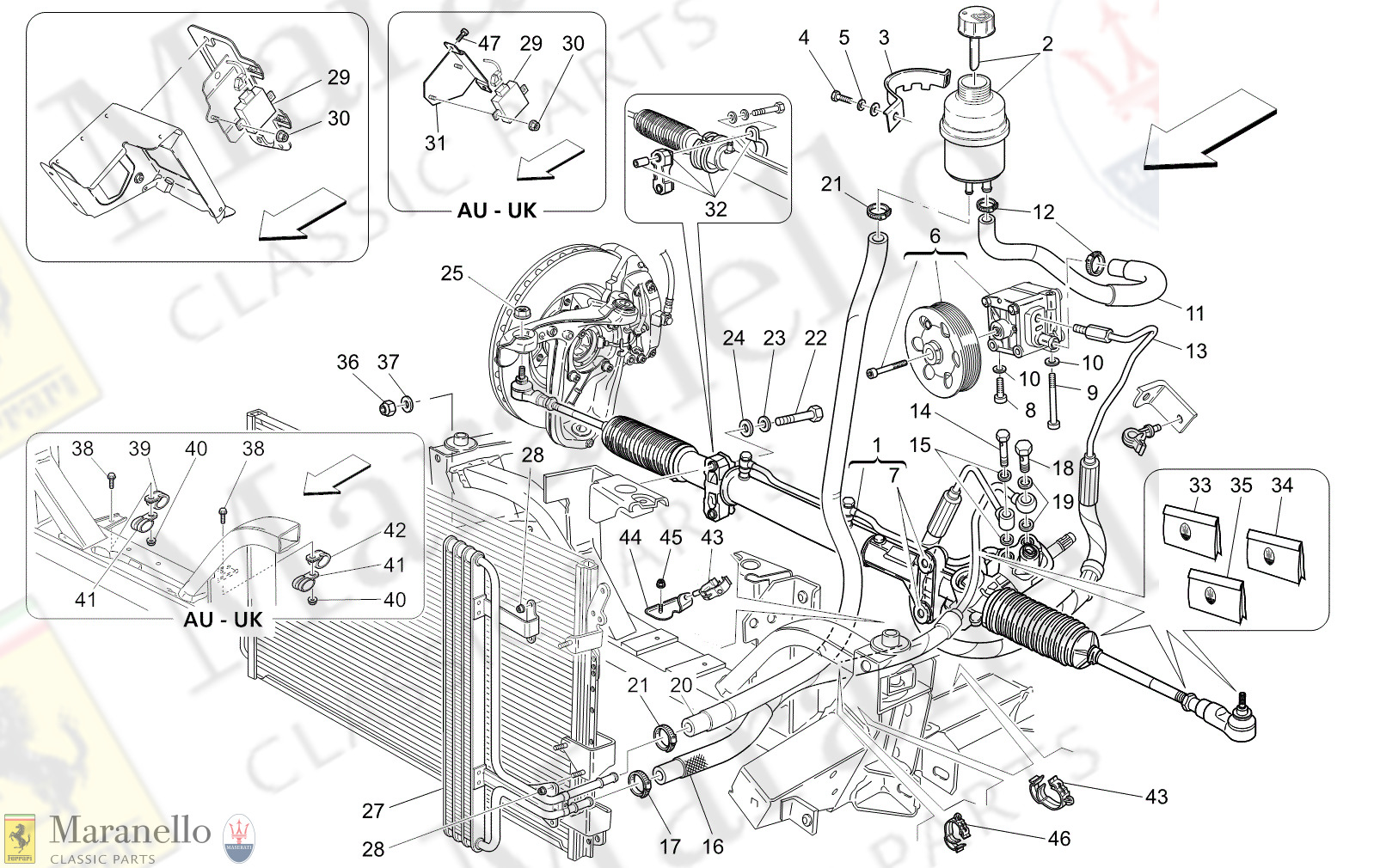 05.10 - 1 - 0510 - 1 Complete Steering Rack Unit